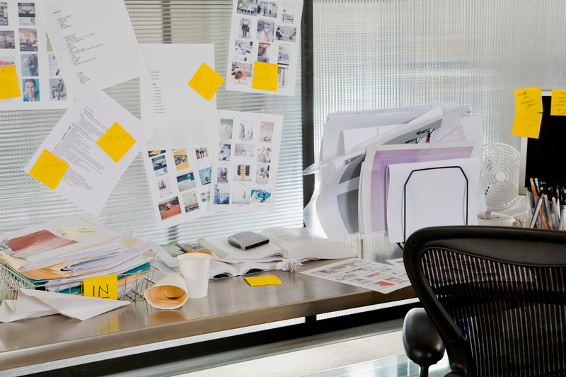 Set up a specific workspace for productivity when working from home