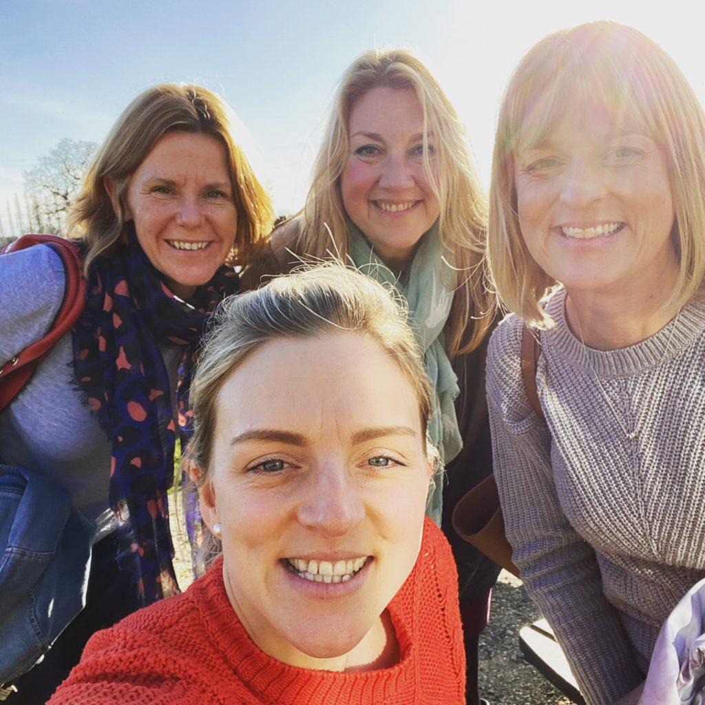ladies in the sunshine